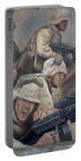 29 Palms Mural 1 Portable Battery Charger by Bob Christopher