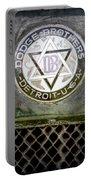 1923 Dodge Brothers Depot Hack Emblem Portable Battery Charger