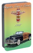 1948 Chrysler Town And Country Portable Battery Charger