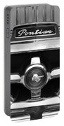 1951 Pontiac Streamliner Grille Emblem Portable Battery Charger