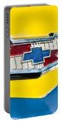 1956 Chevrolet Belair Emblem Portable Battery Charger