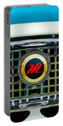 1959 Nash Metropolitan Grille Emblem Portable Battery Charger