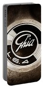 1962 Ghia L6.4 Coupe Emblem Portable Battery Charger