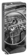 1963 Ford Falcon Sprint Convertible Bw  Portable Battery Charger