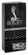 1969 Shelby Gt500 Convertible 428 Cobra Jet Grille Emblem Portable Battery Charger
