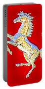 1999 Ferrari 550 Maranello Stallion Emblem Portable Battery Charger