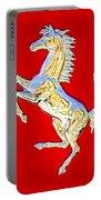 1999 Ferrari 550 Maranello Stallion Emblem Portable Battery Charger