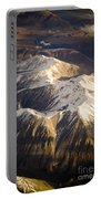 Aerial Mountains Portable Battery Charger