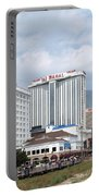 Aerial Of Downtown Atlantic City Portable Battery Charger