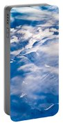 Aerial View Of Snowcapped Peaks In Bc Canada Portable Battery Charger