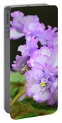 African Violets  Portable Battery Charger