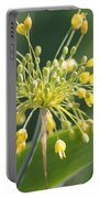 Allium Flavum Or Fireworks Allium Portable Battery Charger