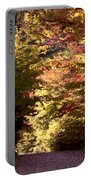 Autumn Colors And Road  Portable Battery Charger