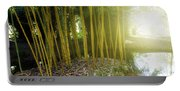 Bamboo Portable Battery Charger
