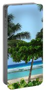 Beach Paradise Portable Battery Charger