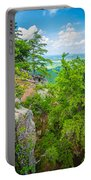 Beautiful Aerial Landscape Views From Crowders Mountain North Ca Portable Battery Charger