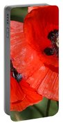 Beautiful Poppies 2 Portable Battery Charger