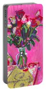 Blakes' Roses Portable Battery Charger