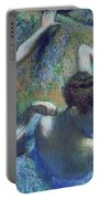 Blue Dancers Portable Battery Charger