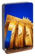 Brandenburg Gate Berlin Germany Portable Battery Charger