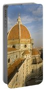 Brunelleschi's Dome At The Florence Cathedral  Portable Battery Charger