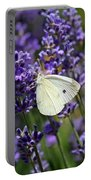 Cabbage White Butterfly Portable Battery Charger