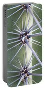 Cactus Thorns Portable Battery Charger