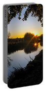 Canal Sunset Portable Battery Charger