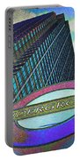 Canary Wharf London Art Portable Battery Charger