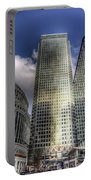Canary Wharf Tower London Portable Battery Charger