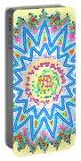 Colorful Signature Art Chakra Round Mandala By Navinjoshi At Fineartamerica.com Rare Fineart Images  Portable Battery Charger