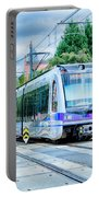 Charlotte North Carolina Light Rail Transportation Moving System Portable Battery Charger