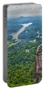 Chimney Rock At Lake Lure Portable Battery Charger