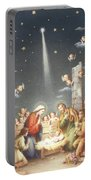 Christmas Card Portable Battery Charger by French School
