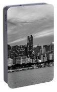 City At The Waterfront, Lake Michigan Portable Battery Charger