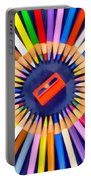 Colorful Pencils Portable Battery Charger