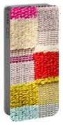 Colorful Textile Portable Battery Charger by Tom Gowanlock