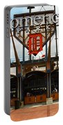 Comerica Park - Detroit Tigers Portable Battery Charger by Frank Romeo