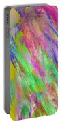 Computer Generated Abstract Fractal Flame Portable Battery Charger