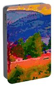 Cowichan Bay From Doman's Road Portable Battery Charger