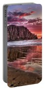 Crimson Sunset Portable Battery Charger