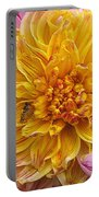 Dahlia Named Lambada Portable Battery Charger