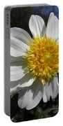 Dahlia Named Platinum Blonde Portable Battery Charger