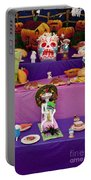 Day Of The Dead Remembrance, Mexico Portable Battery Charger