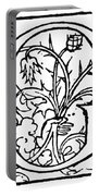 Decorative Initial G Portable Battery Charger