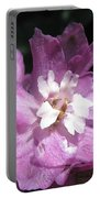 Delphinium Named Magic Fountains Lilac Pink Portable Battery Charger