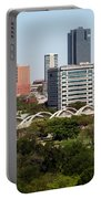 Downtown Fort Worth Texas Portable Battery Charger