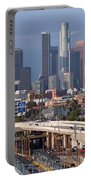 Downtown Los Angeles Skyline Portable Battery Charger