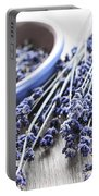 Dried Lavender Portable Battery Charger