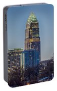 Early Morning In Charlotte Nc Portable Battery Charger